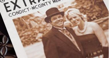 NEWSPAPER WEDDING – ĐÁM CƯỚI THEO PHONG CÁCH BÁO CHÍ